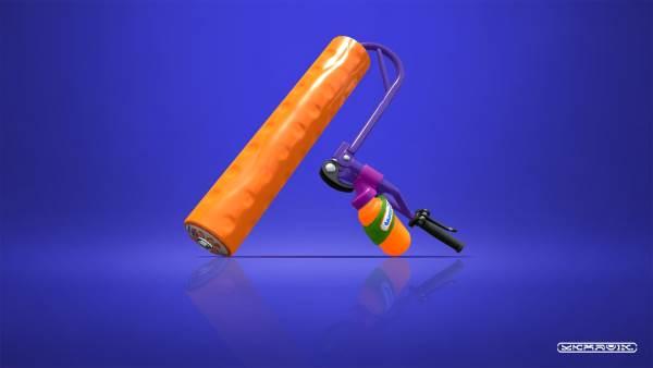 スプラトゥーン2 スプラローラーコラボ(ロラコラ) ブキ サブ スペシャル 特徴 評価 射程