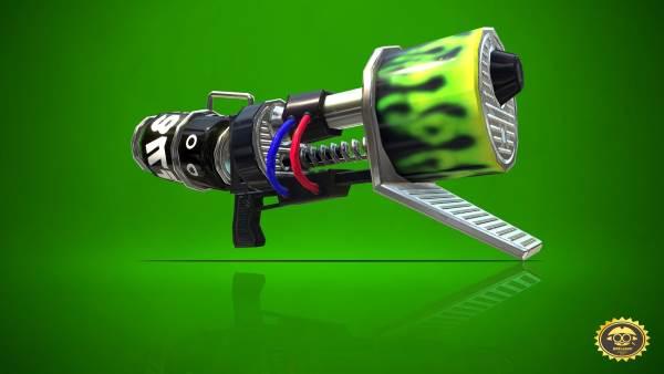 スプラトゥーン2 ロングブラスターネクロ(ロンネク) ブキ サブ スペシャル 特徴 評価 射程
